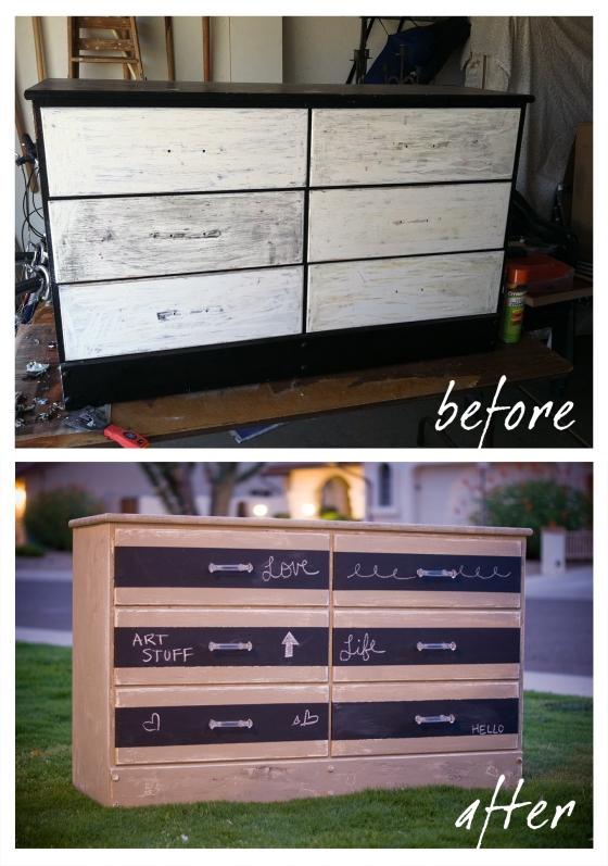 Dresser DIY makeover