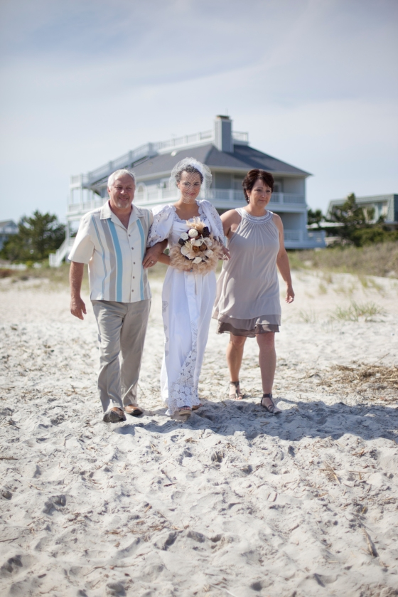 B FOCUSED DESIGNS - Wrightsville Beach Wedding