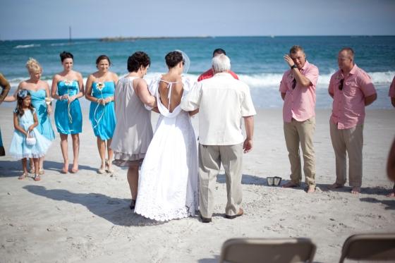 B FOCUSED DESIGNS - Wrightsville Beach Wedding