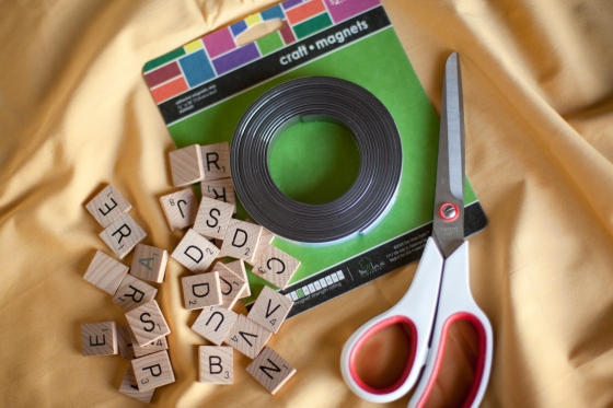 Scrabble Magnets Supplies