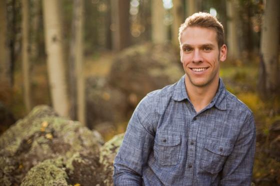 Portrait in the aspens in Flagstaff, az