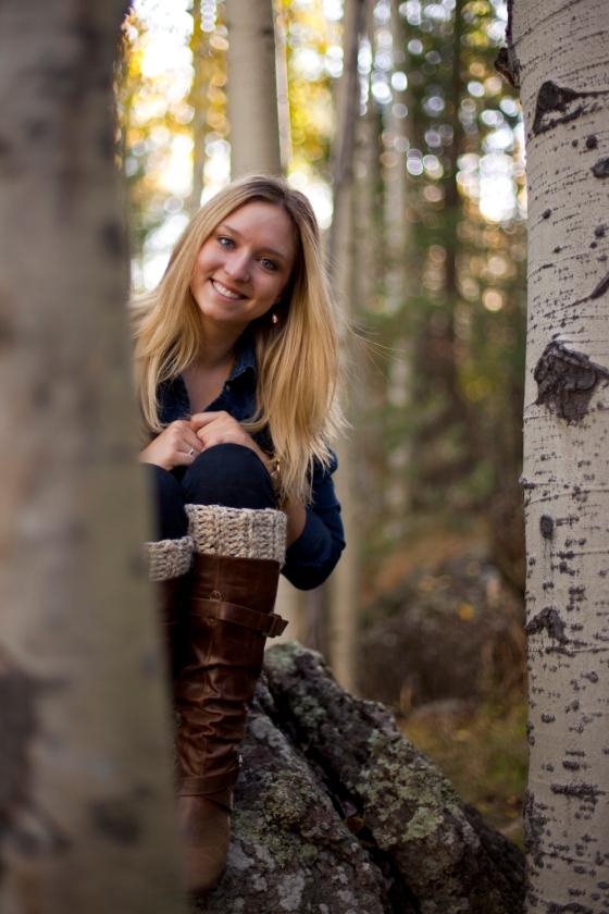 Me in Flagstaff, az forest